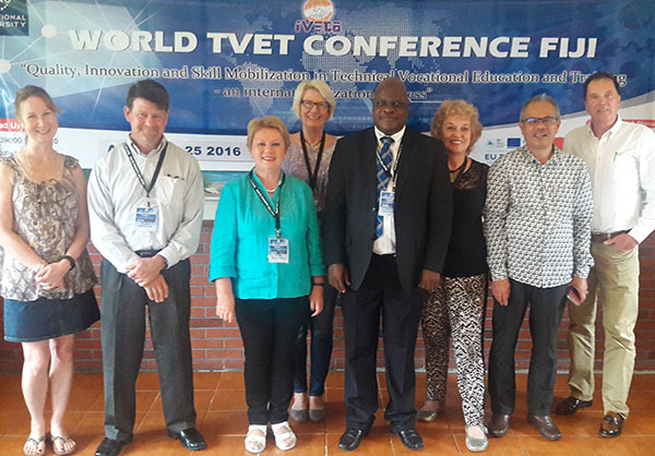 Our WORLD TVET conference in Fiji (2016)