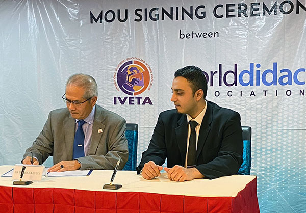 Signing a MOU with WorldDiddac (2019)